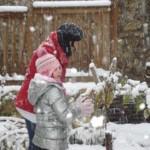 bataille et boules de neige !