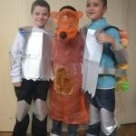 Les chevaliers et le renard