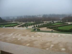 Le parc du château de Versailles