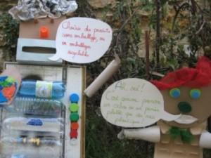 """Exposition à la mairie sur le thème """"Réduire ses déchets"""""""