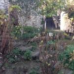 Jardin avant le réaménagement de 2016