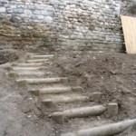 escalier aménagé